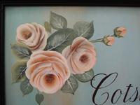 カットの素材画像(挿絵の素材)~薄ピンクの薔薇の花