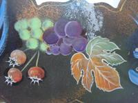 カットの素材画像(挿絵の素材)~果物の実(果実)と果物の葉っぱ