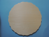 トールペイントのボード3(円形・集成材・室内向け)